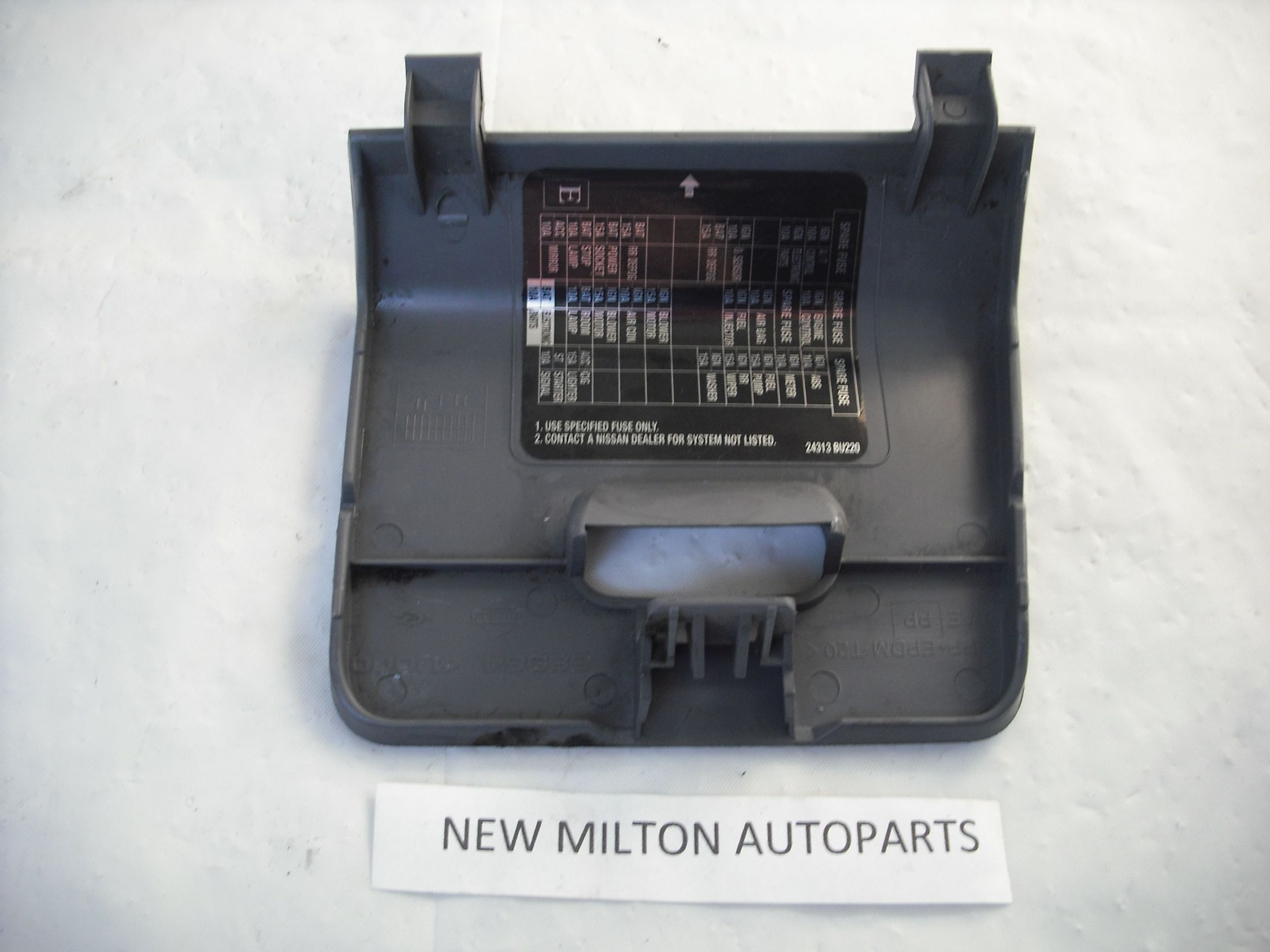68964 4u000 A Genuine Nissan Almera Tino Interior Fuse Box Cover Rhd Boxes Cars Only